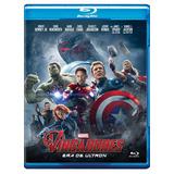 Os Vingadores - Era De Ultron - Blu-ray - Novo/original