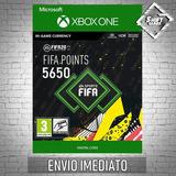 5650 Fifa 20 Points Xbox One Código 25 Dígitos