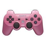 Controle Joystick Sony Dualshock 3 Pink