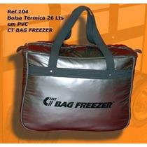 Bolsa Térmica Bag Freezer 26 Litros Camping Viagem + Brinde