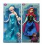 Boneca Frozen Elsa & Anna Disney Store 30cm Lindas Originais