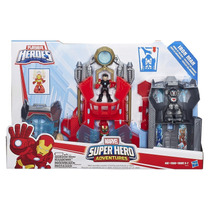 Playskool Laboratorio Tony Stark Iron Man Som E Luz Hasbro