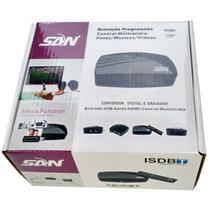 Mini Conversor Tv Digital Terrestre Função Gravador + Hdmi