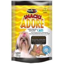 Petisco Threedog Adore Snacks Cães Filhotes E Raças Mini 80g