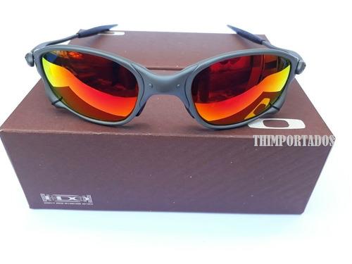 3762481bb827d Óculos Oakley Double Xx Juliet Squared 24k Masculino. - R 149.9