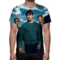 Camisa, Camiseta Grupo A-ha - Estampa Total