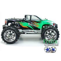 Automodelo 1/8 Hsp Monster Truck 4x4 Motor .21 Nitro 2 Veloc