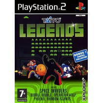 Comprar Jogos Ps2 Patch Taito Legends P/ps2 C/ Gladiator Qix