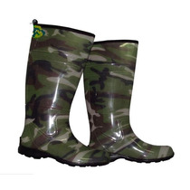 Galocha Fashion Alpat Camuflada Exercito