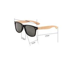 f4ffca50b8dde Óculos Masculino Polarizado Sol Madeira Bambu Uv400 Quadrado à venda ...