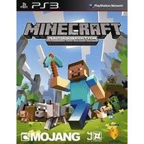 Minecraft - Ps3 - 100 % Oficial - Código Psn - Mídia Digital