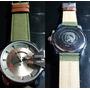 Relógio Est.diesel De Couro - Varios Modelos, Frete Gratis
