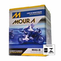 Bateria Moura Moto - 12v E 6ah P/ Titan Es, Twister E Outros