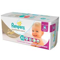 Fralda Pampers Premium Care Pacotão Xg