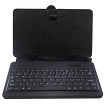 Capa Case C/ Teclado Usb P/ Tablet 7 Genesis Foston Preta