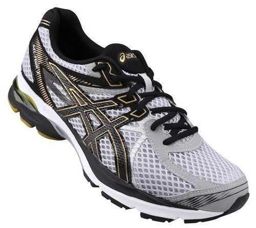 46a6e8a015 Tênis Masculino Asics Gel Flux 3 9390 - Cinza ouro