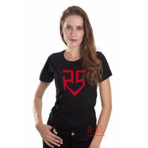 Baby Look R5 - Camiseta Banda R5 - Feminina 100% Algodão