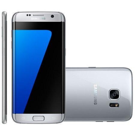 Celular Samsung Galaxy S7 Edge Prata Sm - 935f Lacrado Anatel