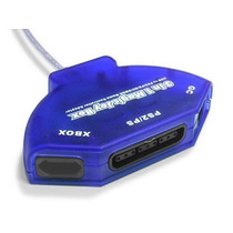 Adaptador Usb 3 In 1 Magic Joy Box (psx / Gc / Xbox) Para Pc