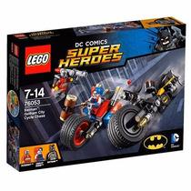 Lego 76053 Super Heroes Batman Perseguição De Moto Em Gotham