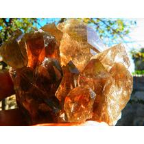 Cristal Com Fios De Cristal Rutilado
