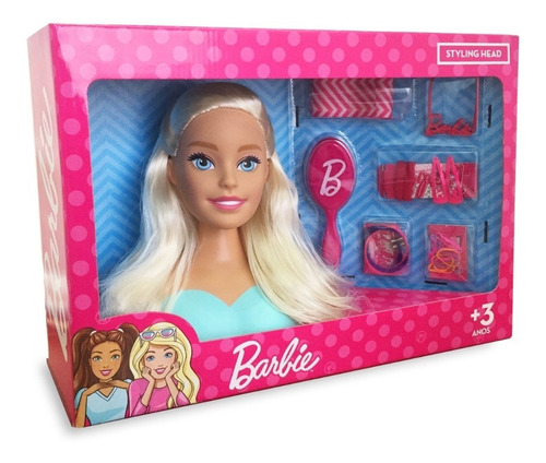 Busto Barbie - Styling Head-original Pupee Licenciado Mattel