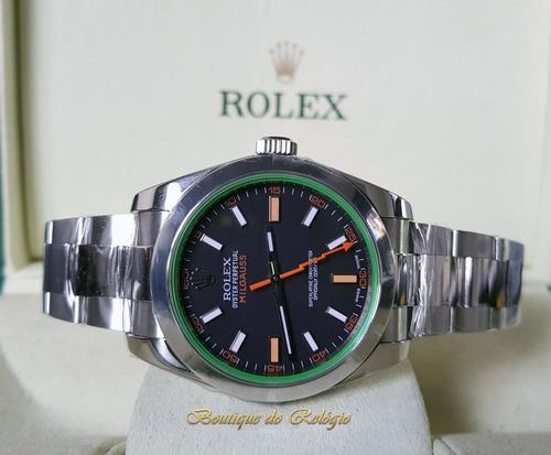 bc013126e25 Relógio Eta Novo - Milgauss Dial Preto - Arf Best Aço 904