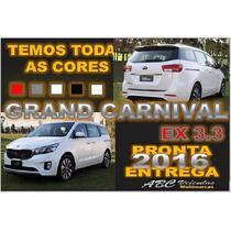 Kia Grand Carnival 3.3 Ex V6 Ano 2016 - 0 Km Pronta Entrega