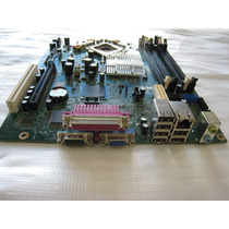 Placa Mãe Dell Optiplex 745 Sff Lga775 Ddr2 Rf703 Mini Tower
