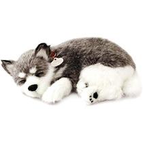 Cachorro Husky Perfect Petzzz Filhote De Pelúcia 15cm