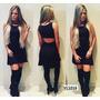 Vestido Curto Moda 2016 Lançamento Outono Inverno