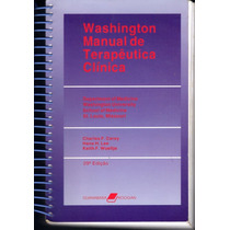 Washington Manual De Terapêutica Clínica / Charles F. Carey
