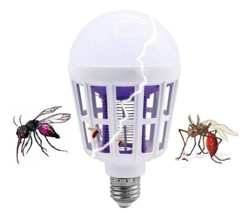 Lâmpada Led Mata Mosquito Insetos Pernilongo Moscas 15w