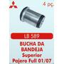 Bucha Da Bandeja Superior Pajero Full 01 Ate 07 4 Peças