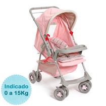 Carrinho De Bebê - - Milano Reversível - Rosa Galzerano