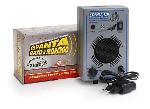 Repelente Para Ratos E Morcegos Eletrônico 150m² Bivolt