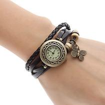 Relógio Feminino Estilo Borboleta Quartzo Analógico