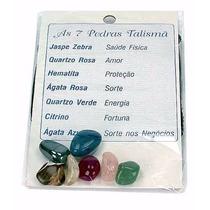 Saquinho 7 Pedras Semipreciosas Do Brasil Talismã Boa Sorte