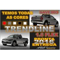 Saveiro Trendline Cabine Simples 1.6 Ano 2016 Pronta Entrega