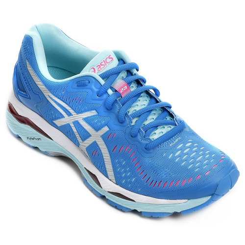 Tenis Runnig Asics Feminino Gel Kayano Azul E Rosa a96330ab2ad30