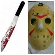 Mascara Do Jason E O Facão