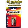 Pilha Aa Panasonic (pequena) Power Alcalina - 45 Cartelas