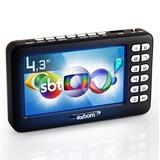 Mini Tv Portátil Digital 4.3 Polegadas Hd Usb Sd Rádio Fm