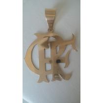 Medalha Do Flamengo Crf Our 18k 750