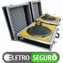 Case Para Toca Discos Audio Technica, Technics Mk2, M5g, Mk5