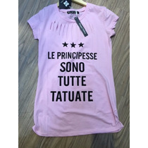 Kit 2 Unidades Camiseta Com Perolas Feminina,