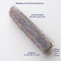Turmalina Paraíba Violeta Bruta Pedra Preciosa Natural 3157