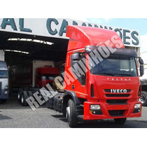 Iveco Tector 240e25 Leito 2010 Truck Chassis 11 Metros