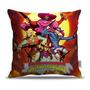 Capa Almofada Decorativa Game Sunset Riders 40x40cm Original