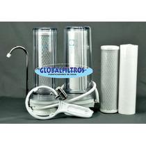 Filtro Purificador De Água Removedor Flúor, Cloro E Toxinas